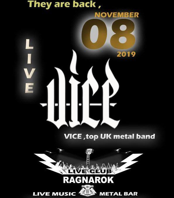 Vice top UK Metal band