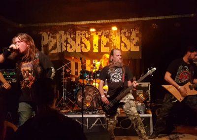 Persistense - Death Metal - 2019 11 08 Ragnarok Live Club - Bree (BE) (1)